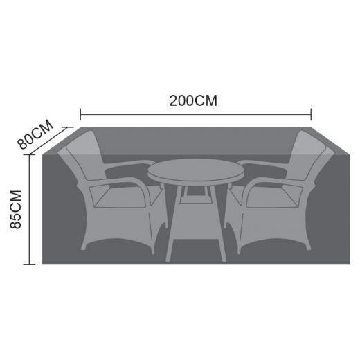 Cover for 2 Seat Bistro Set - 200cm x 80cm x 85cm
