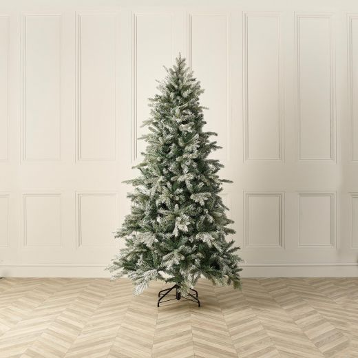 6ft Frosted Sitka Spruce Artificial Christmas Tree