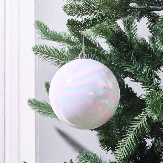 Crystal Ball Shiny Shatterproof Bauble