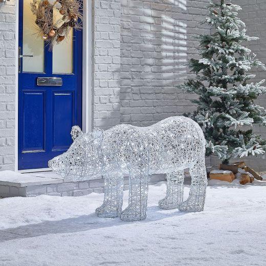 Paloma the 150cm Christmas Polar Bear