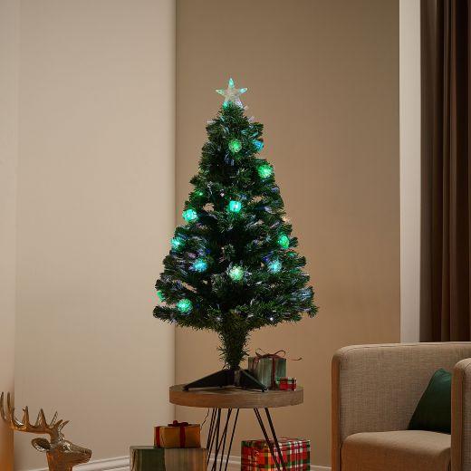 4ft Fibre Optic Christmas Present Artificial Christmas Tree