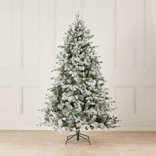 5ft Premium Snowy Grand Fir Artificial Christmas Tree