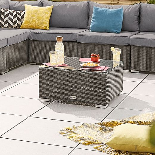 Chelsea Square Coffee Table - Slate Grey