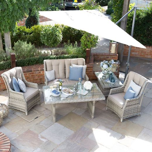 Oyster Casual Dining 2 Seater Sofa Set