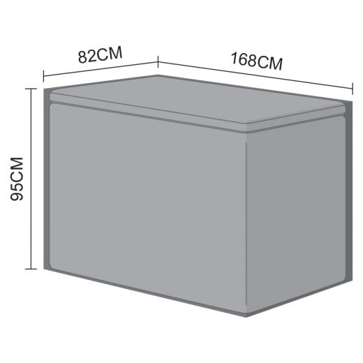 Cover for Large Cushion Storage Box - 168cm x 82cm x 95cm