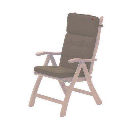 Acrylic Recliner Chair Cushion - Taupe