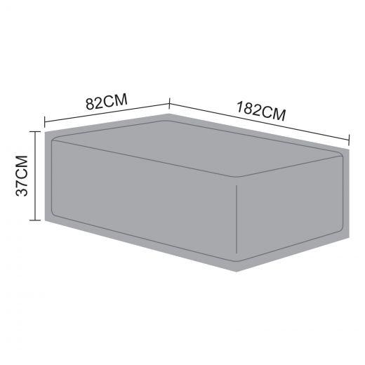 Cover for Luxor Rectangular Coffee Table - 182cm x 82cm x 37cm