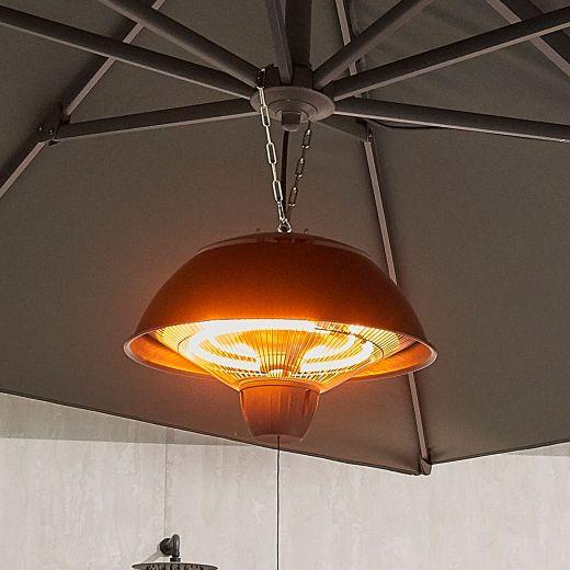 Portobello 1.5kW Chain Suspended Electric Patio Heater