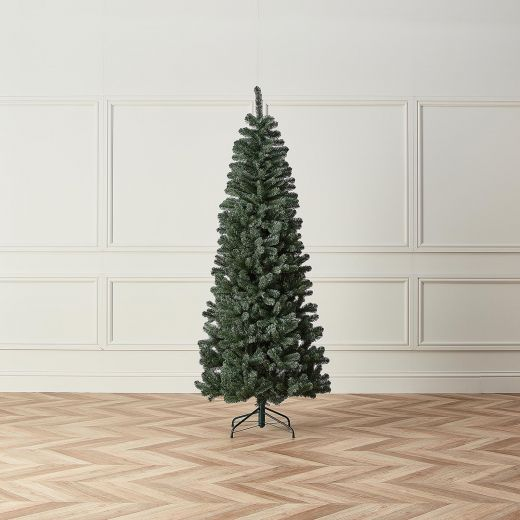 7ft Slim Woodland Green Balsam Fir Artificial Christmas Tree