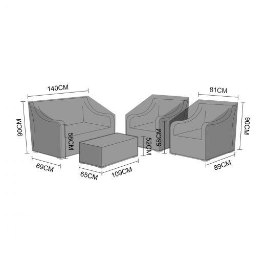 Cover Pack for Nova Harper 2 Seater Sofa Set