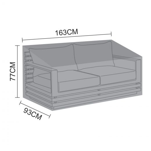 Cover for San Marino 2 Seater Sofa