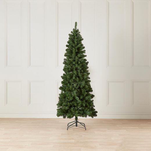 8ft Slim Balsam Fir Artificial Christmas Tree