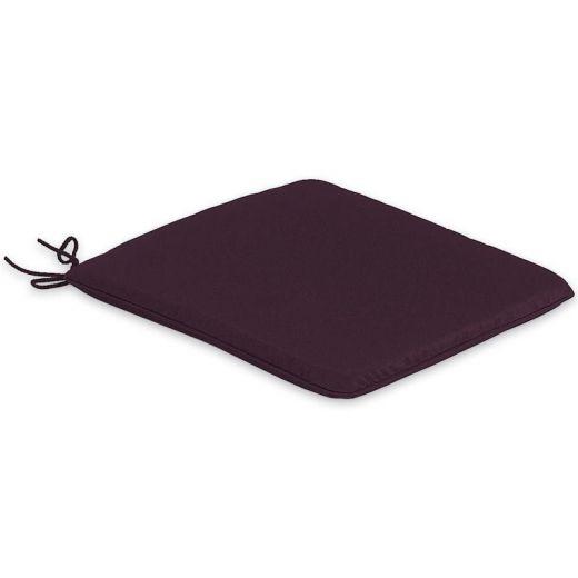 Large Seat Pad Cushion - Plum