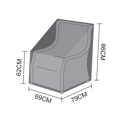 Cover for Oyster Armchair