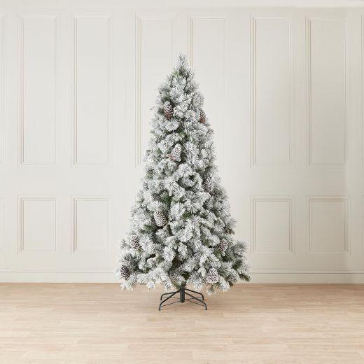 5ft Snowy Virginia Pine Artificial Christmas Tree