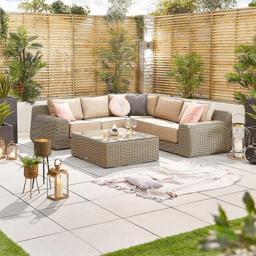 Luxor 1A Corner Sofa Set - Willow