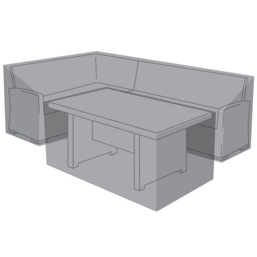 Cover Pack For Left Hand L-Shaped Ciara Corner Dining Set