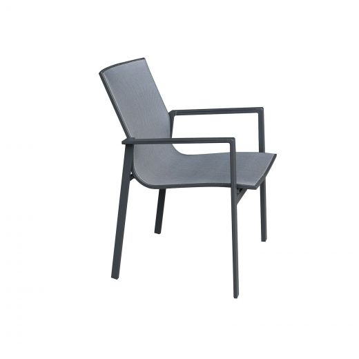Pack of 6 Milano Dining Armchairs - Grey Frame