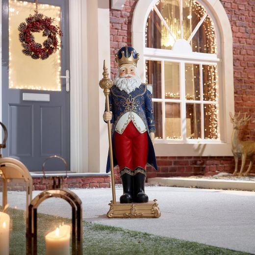 Nicholas the 3ft Santa Claus Christmas Statue