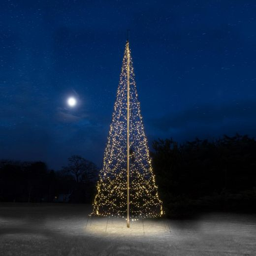 Fairybell 10m 4000 Warm White LED Outdoor Christmas Tree