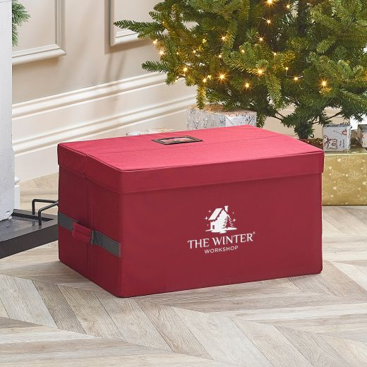 Medium Christmas Ornament Storage Chest (96 Pieces)