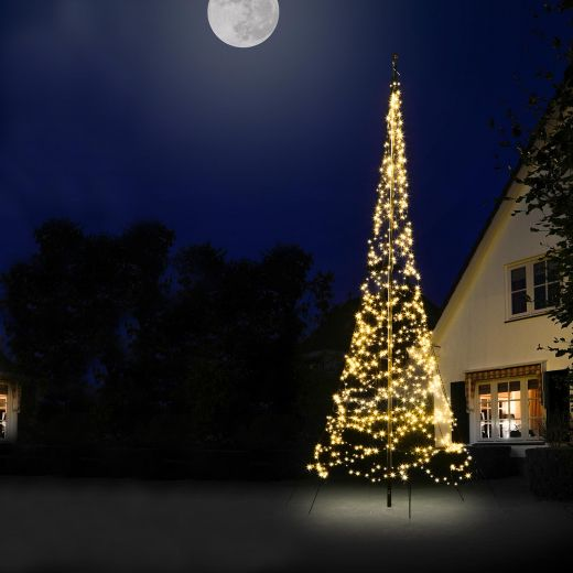 Fairybell 6m 1200 Warm White LED Outdoor Christmas Tree