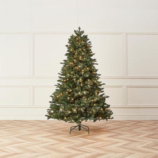 6ft Pre-Lit Blackhills Spruce Artificial Christmas Tree