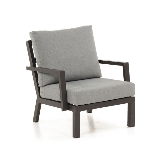 Vogue Aluminium Armchair - Grey Frame