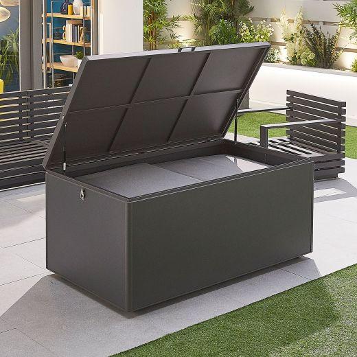 Large Aluminium Storage Box - Grey Frame