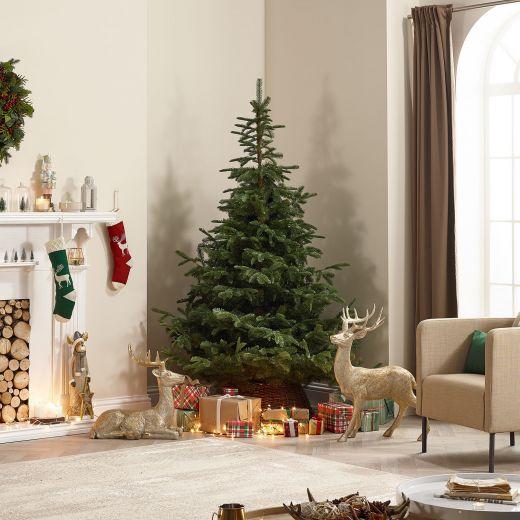8ft Caucasian Fir Artificial Christmas Tree