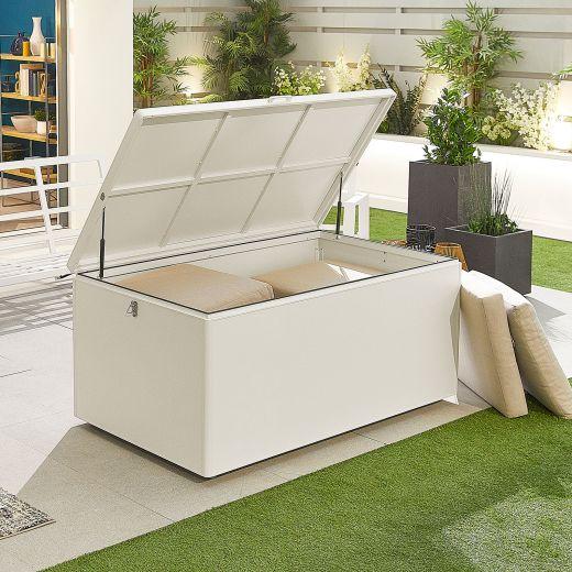 Large Aluminium Storage Box - White Frame