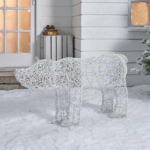 Paloma the 120cm Christmas Polar Bear