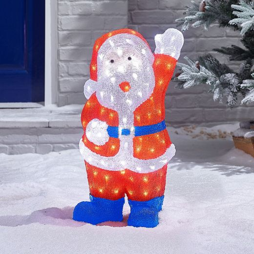 Claus the 60cm Acrylic Christmas Santa