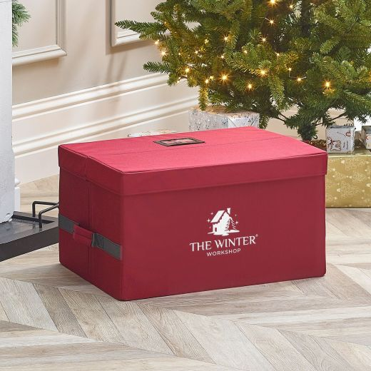 Medium Christmas Ornament Storage Chest (96 Pieces)
