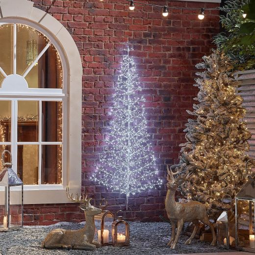 150cm Starburst Christmas Tree - Cool White