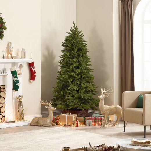 7ft Pinyon Pine Artificial Christmas Tree