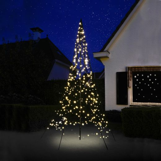 Fairybell 3m 360 Warm White LED Outdoor Christmas Tree