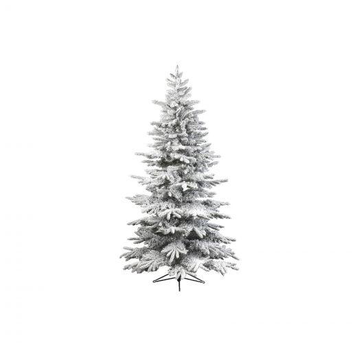 Kaemingk Everlands - 10ft Snowy Alaskan Fir Artificial Christmas Tree