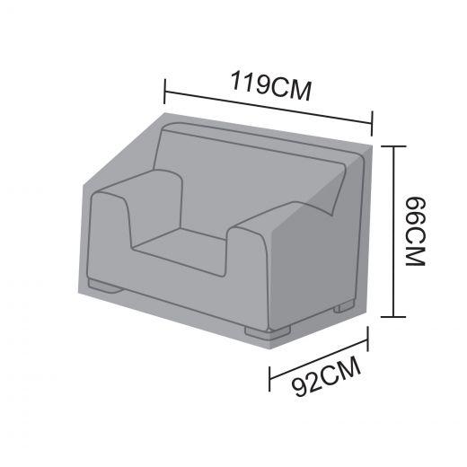 Cover for Luxor Single Armchair - 119cm x 92cm x 66cm
