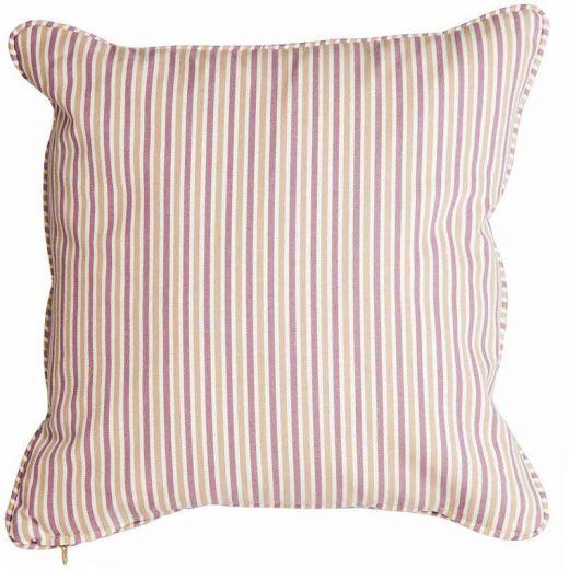 Alexander Rose - 45cm Scatter Cushion - Lavender Purple Stripe