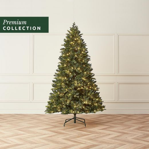 6.5ft Pre-Lit Richmond Fir Click & Connect Artificial Christmas Tree
