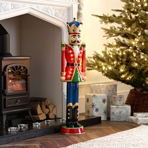 Norbert The 3ft Red Christmas Nutcracker