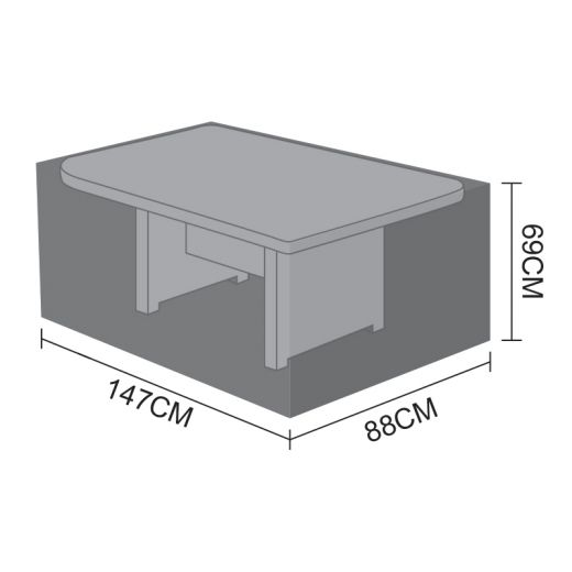 Cover for Oyster Rectangular Casual Dining Table