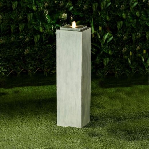 Shiloh Large Water Feature - Light Grey