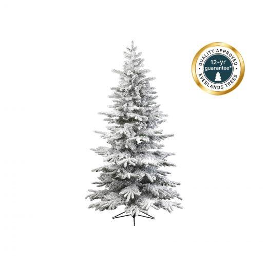 Kaemingk Everlands - 7ft Snowy Alaskan Fir Artificial Christmas Tree