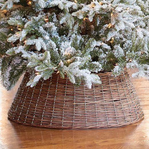 Kaemingk 70cm Christmas Tree Skirt Ring - Brown