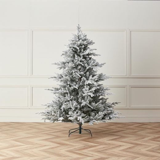 7ft Snowy Concolor Fir Artificial Christmas Tree
