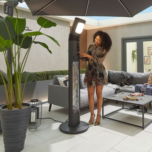 Helios 3kW Free Standing Electric Patio Heater
