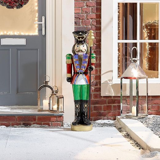 Hans the 3.5ft LED Christmas Nutcracker