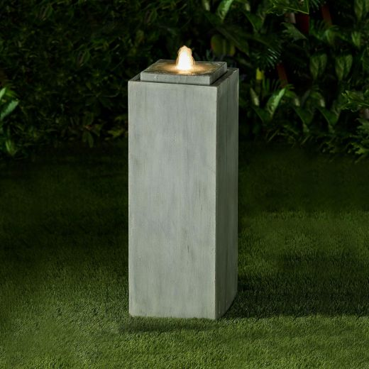 Shiloh Water Feature - Light Grey